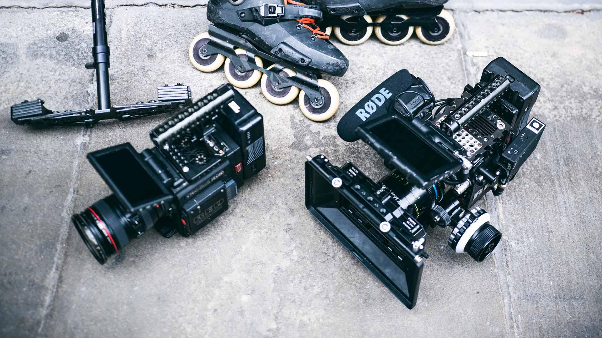 collaboration red camera