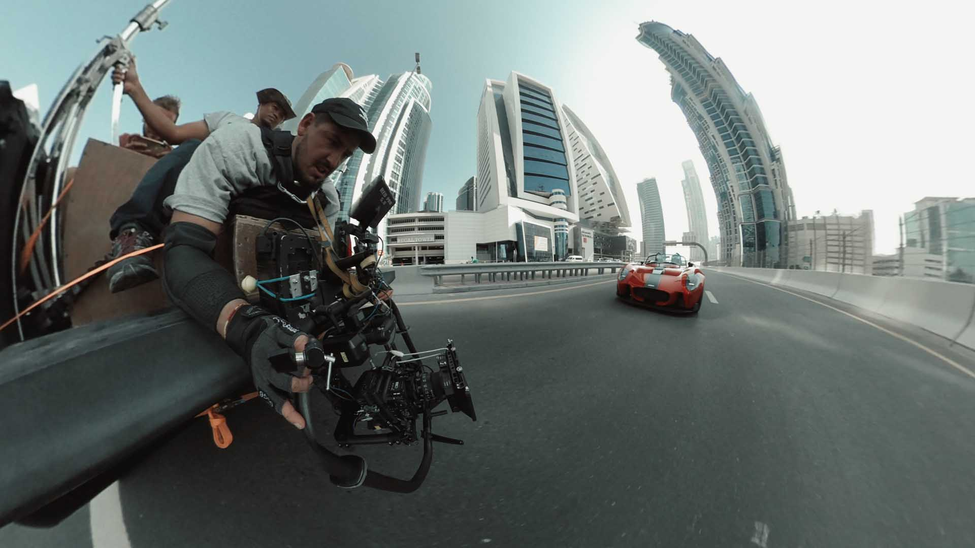 stunt dubai camera team